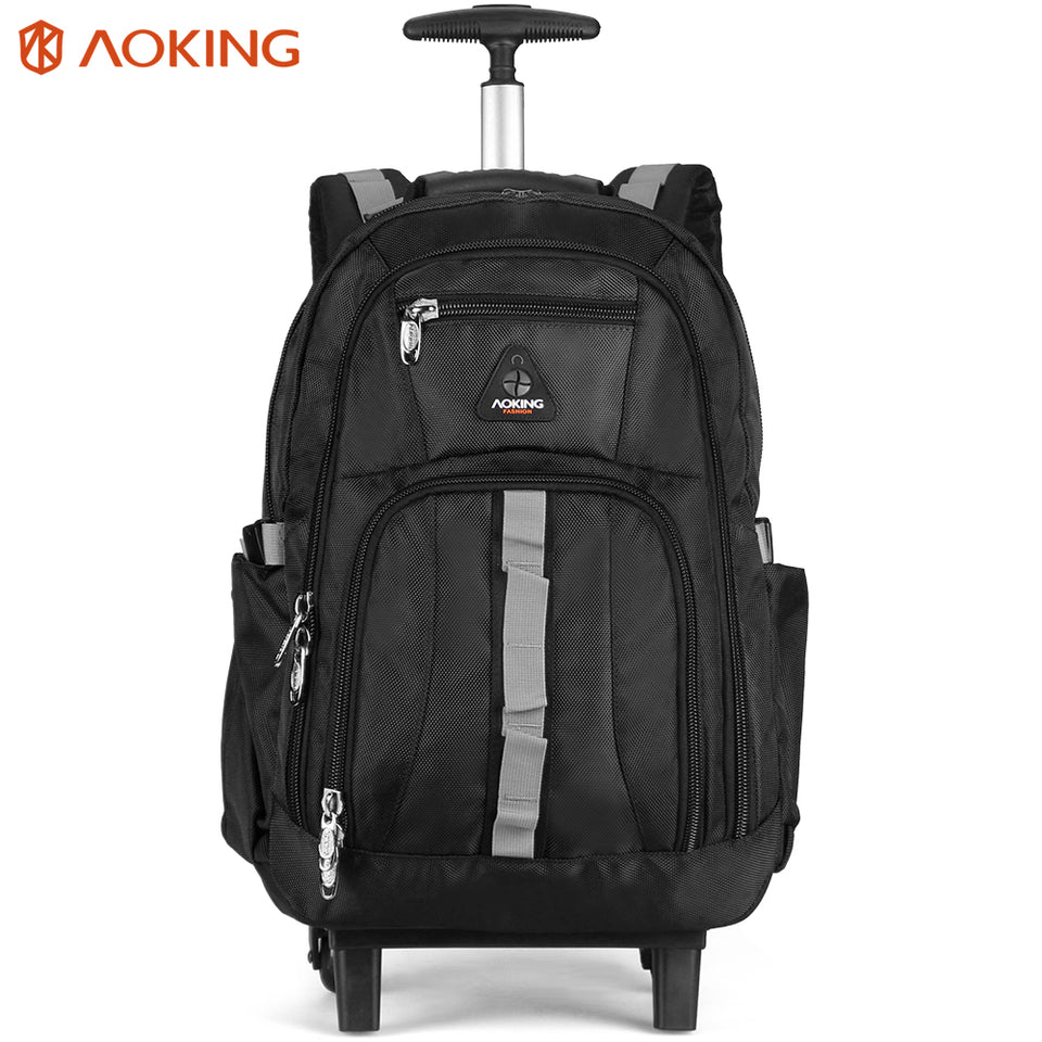 Rolling backpack for travelling