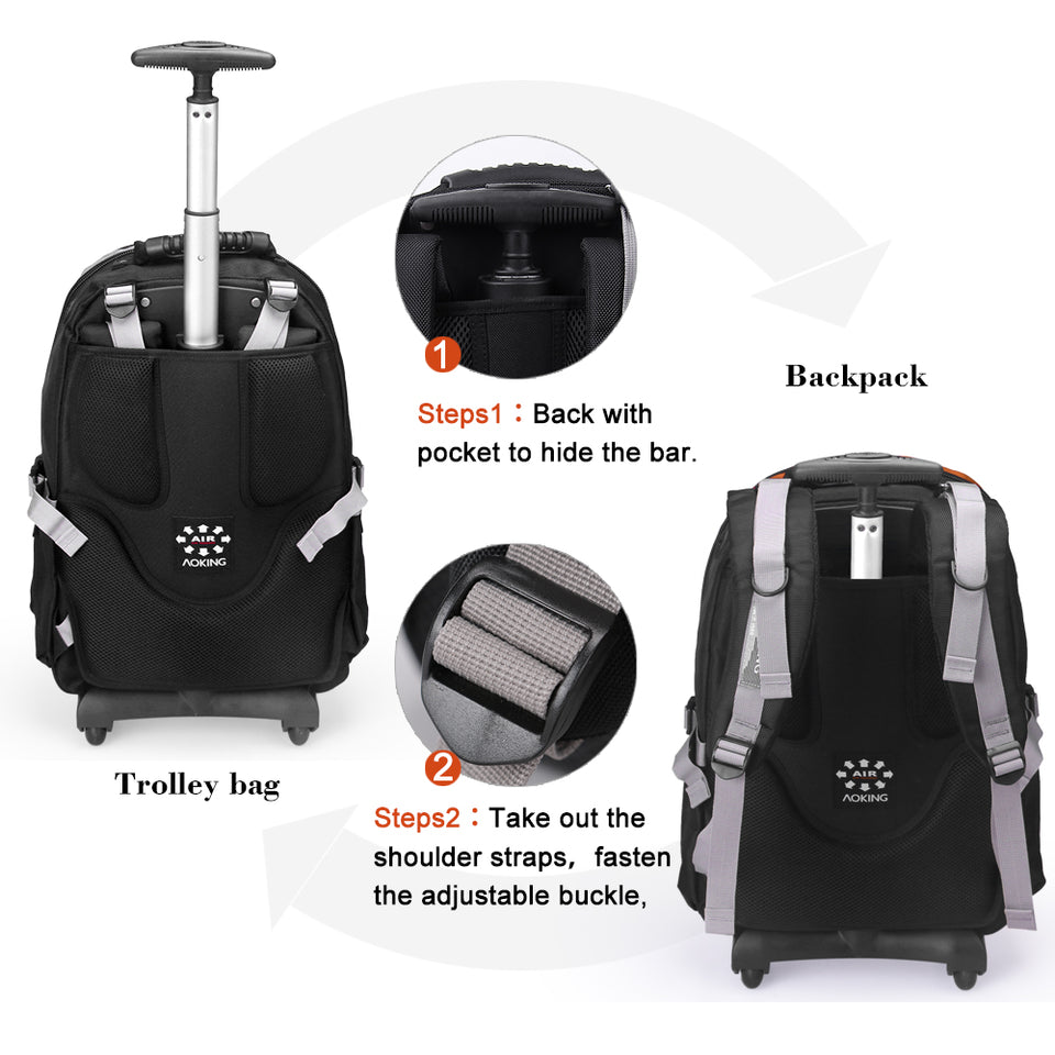 Carry-on wheel bag