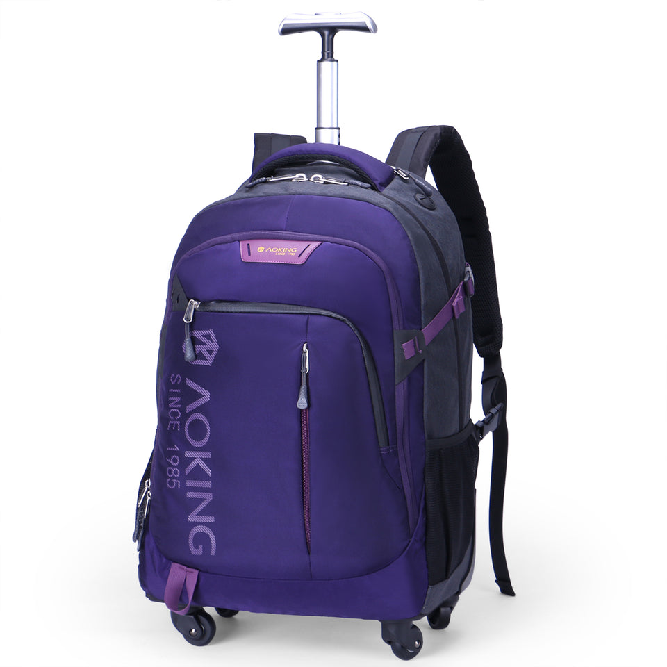 School bag with multilayer back pad