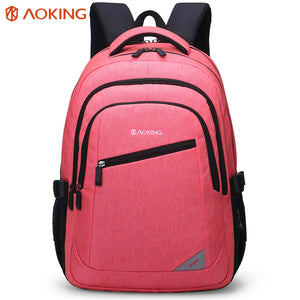 Backpack with build-in soft air pockets