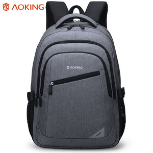School backpack with reflector