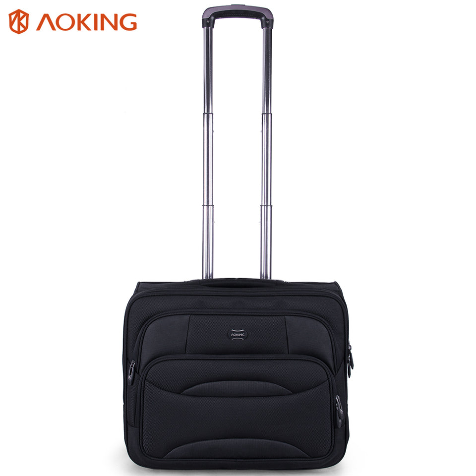 Trolley tote for travel with anti-rust aluminum stainless steel rod