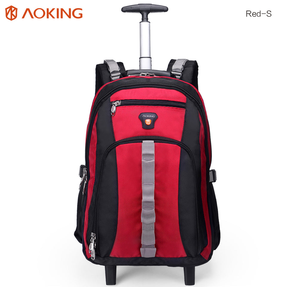 Durable wheeled bag with 5 colors