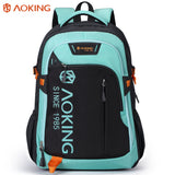 Durable school shoulder backpack