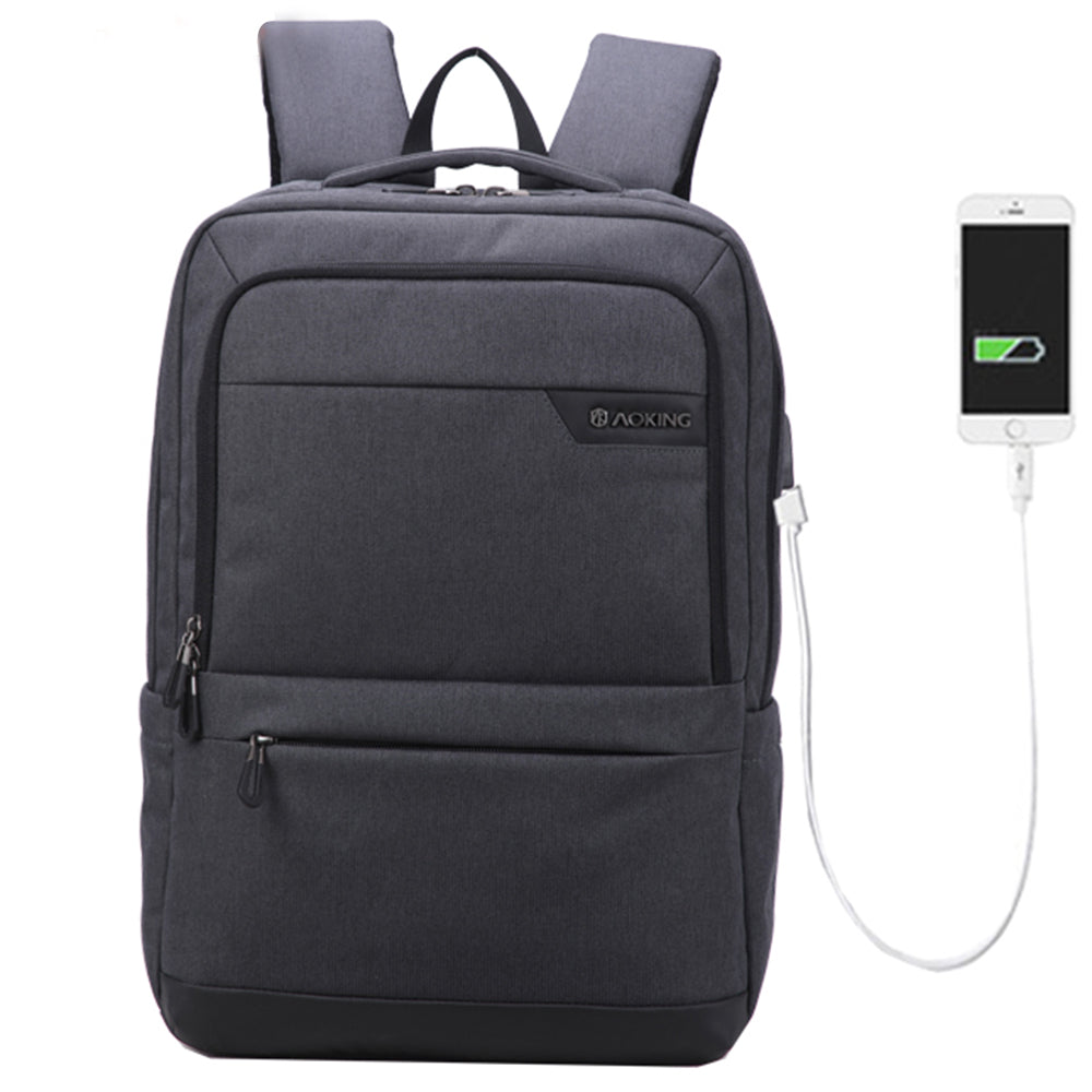 travel backpack with charger
