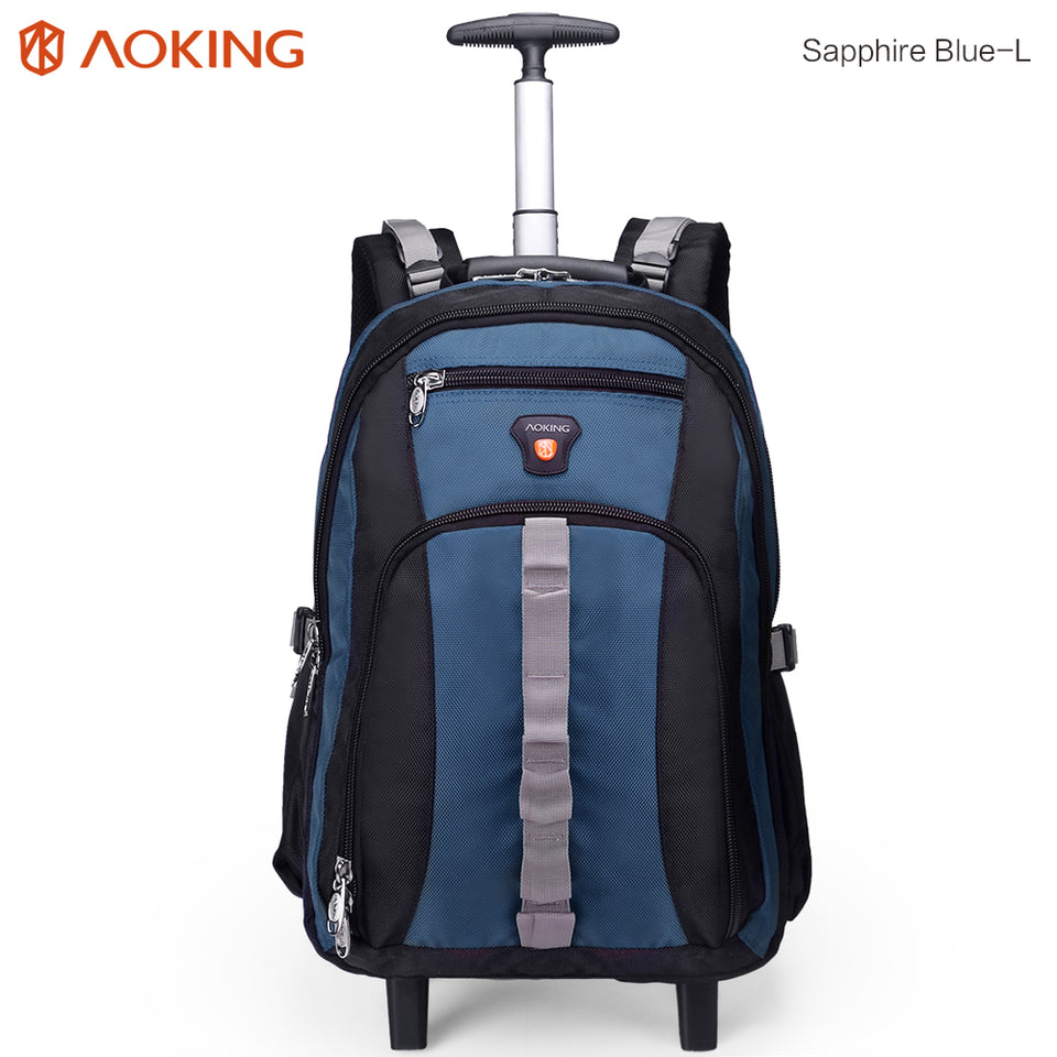 Trolley backpack with earphone port
