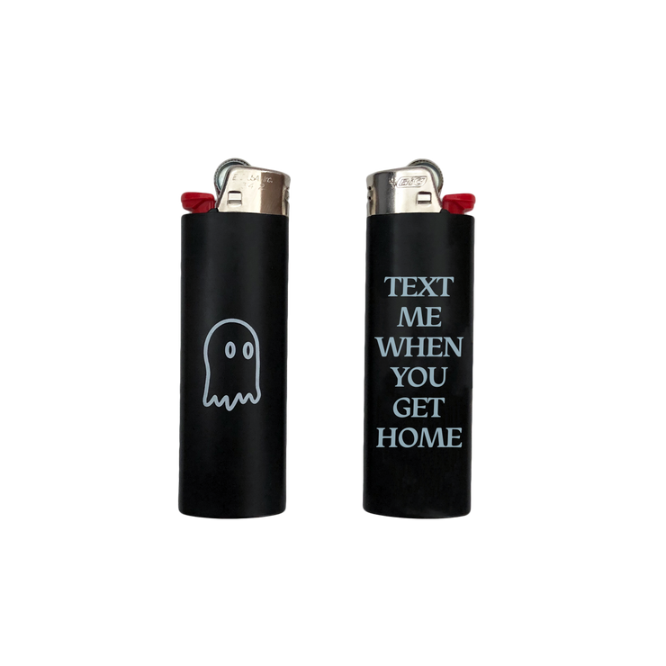 Text Me Lighter Black