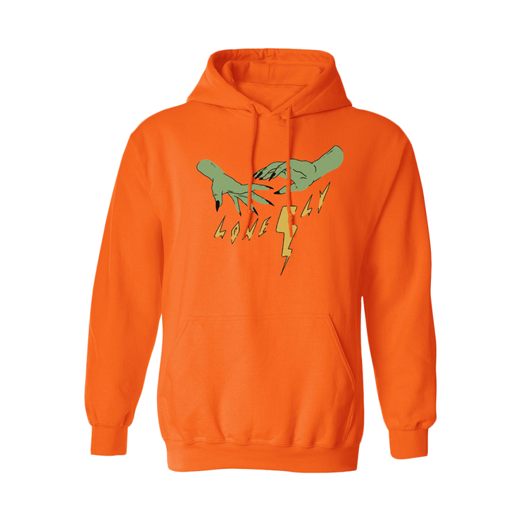 Bolts Hoodie - Orange