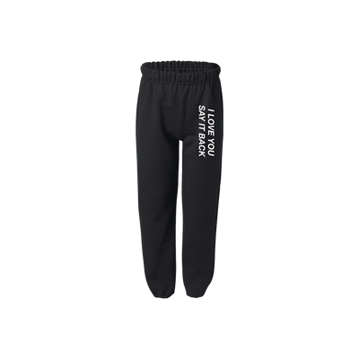 ILYSIB black sweatpants kids