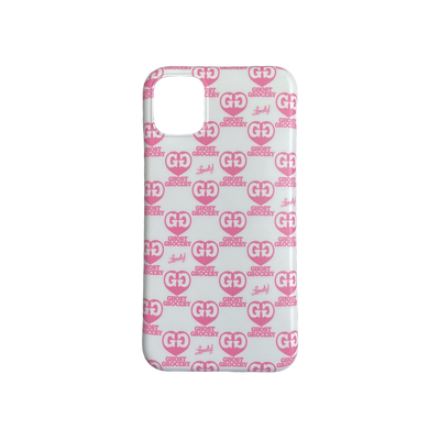 Grocery Phone Case - Pink Hearts