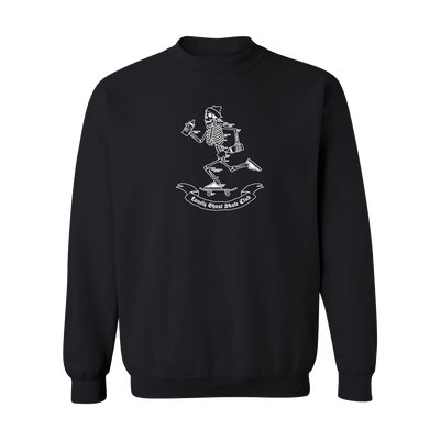 Skelly Black Crewneck