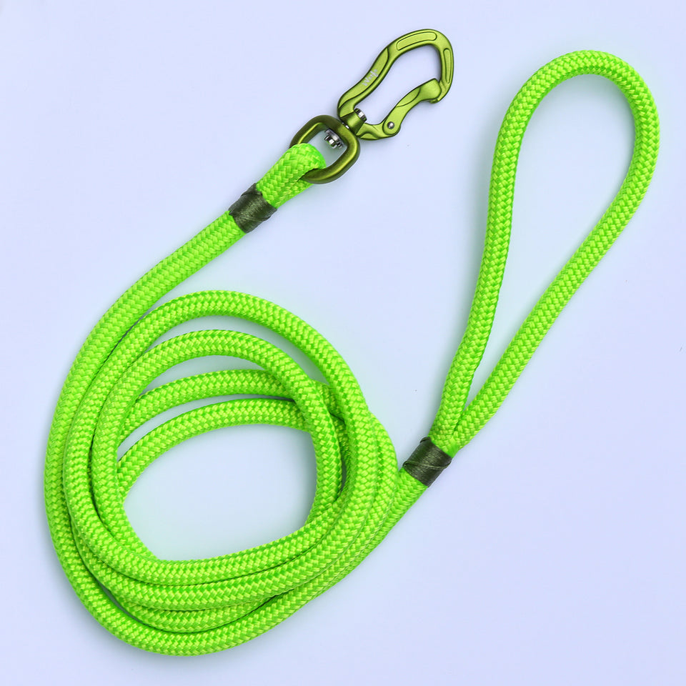 Olive & Lime Rope Leash