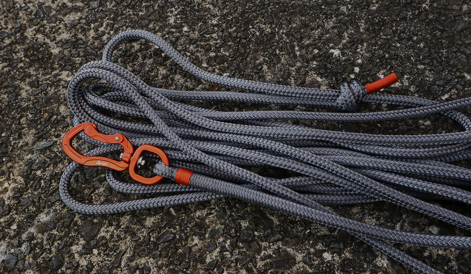Orange & Grey Long Line - 5m