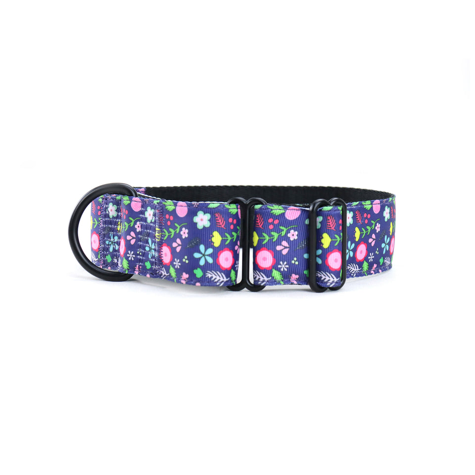 Wild Spring Martingale Dog Collar-Martingale Collar-Greyhound Collars-Woofo Empawrium New Zealand