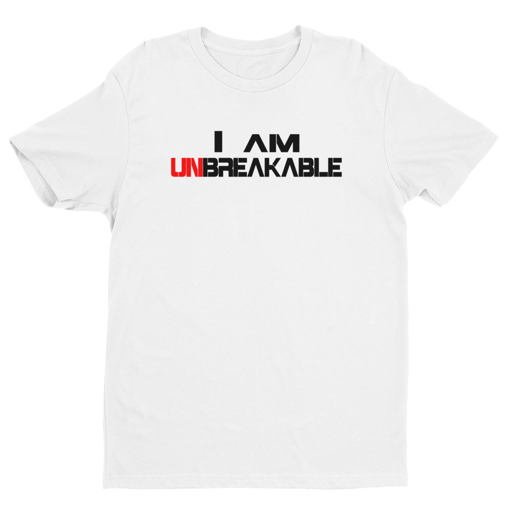 I AM UNBREAKABLE Premium Fitted Tee