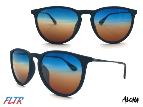FLTR Glasses with Hawaii Inspired Aloha Lenses and Round Frames ~ FLTRglasses.com