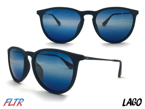 Round Lago Filtered Sunglasses Inspired by Lake Lago Maggiore in Italy at FLTRglasses.com
