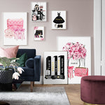 Fashion and makeup wall prints - EleganziaToYou
