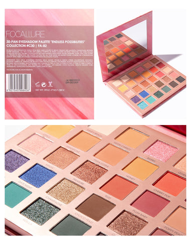 Endless Possibilities professional 30 colors eyeshadow palette - EleganziaToYou