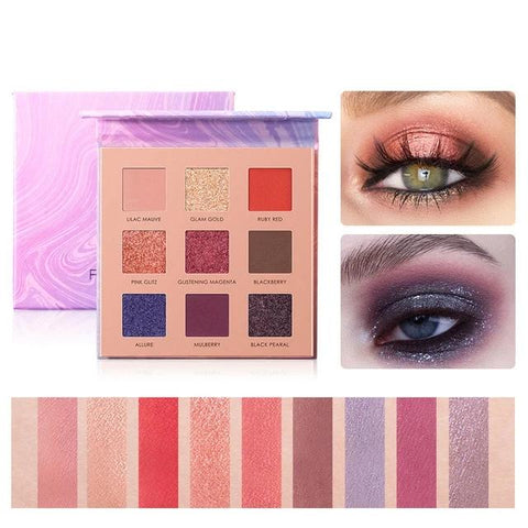Night Elf 9 colors eyeshdow palette - EleganziaToYou