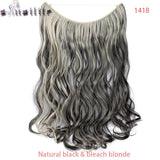 "20"" Wire-in Hair Extensions - EleganziaToYou"
