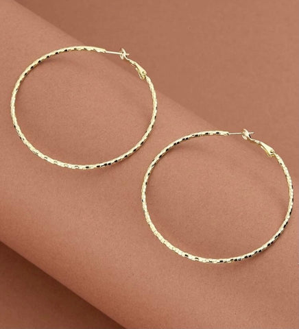 Sweet Gold Hoops