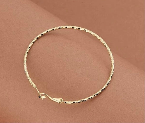Image of Sweet Gold Hoops