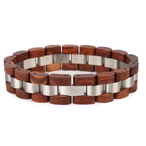 Handmade wood bracelet from nature