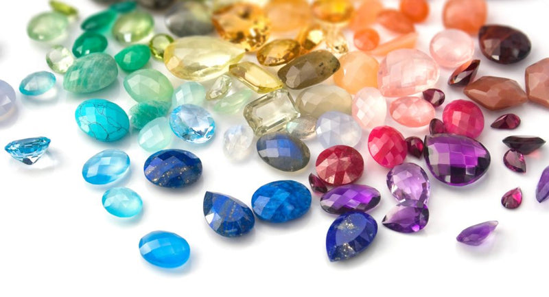 Colored Diamonds and Gemstones