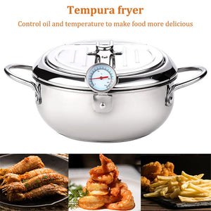 Japanese Style Deep Frying Pot