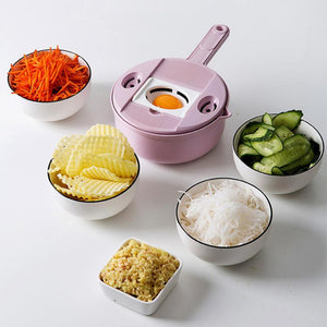 Authentic 9-in-1 Multi-Function Easy Food Chopper