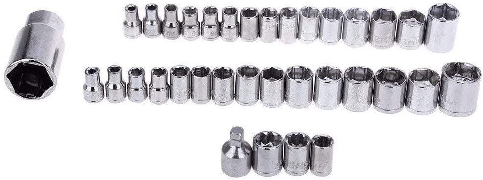 Economical 40 Pcs Combination Socket Wrench Tool Kit Set