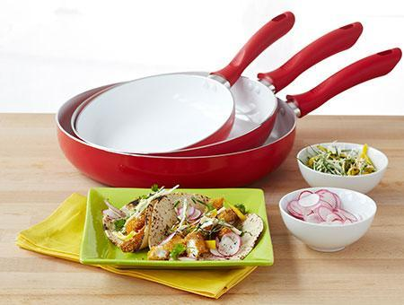 Non Stick Ceramic Pan (5pcs Set)