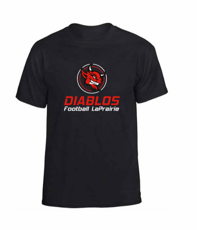 T-Shirt Diablos NOIR - JUNIOR