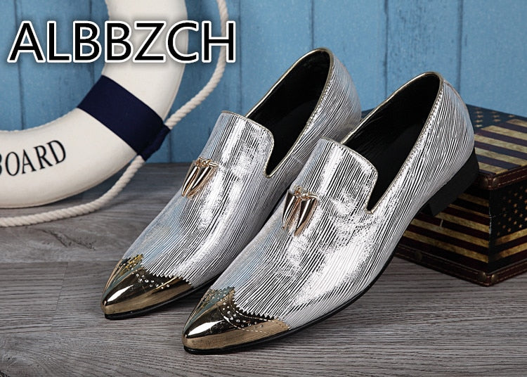 eshopella - New Men's Fashion Loafers Tassel Casual Party Shoes -