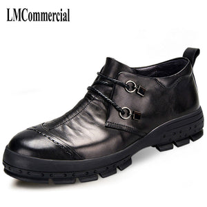 eshopella - new men's business casual shoes leather shoes -