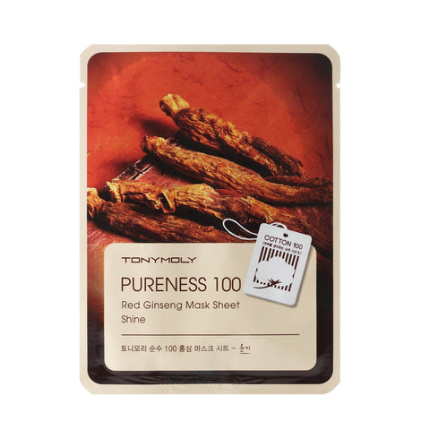 TONYMOLY Pureness 100 Red Ginseng