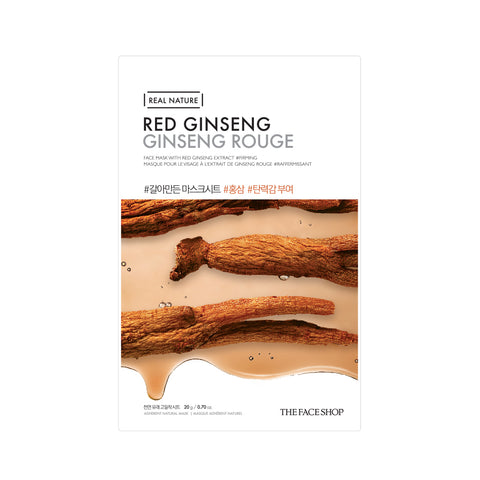 The Face Shop Real Nature Red Ginseng