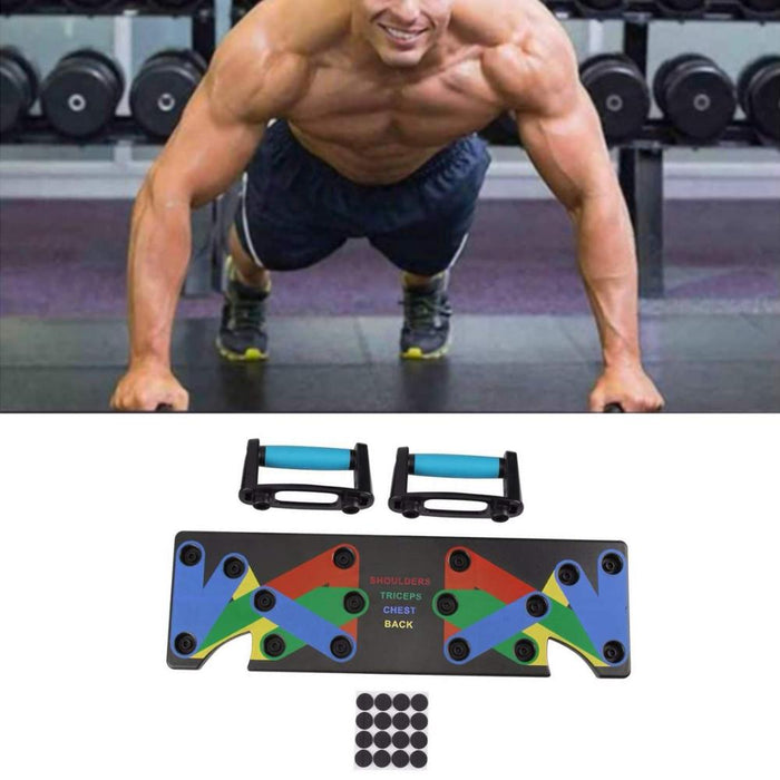 9 in 1 Push Up Rack Board - Discountgereation