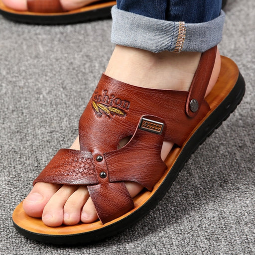 Casual non-slip dual use sandals - Discountgereation