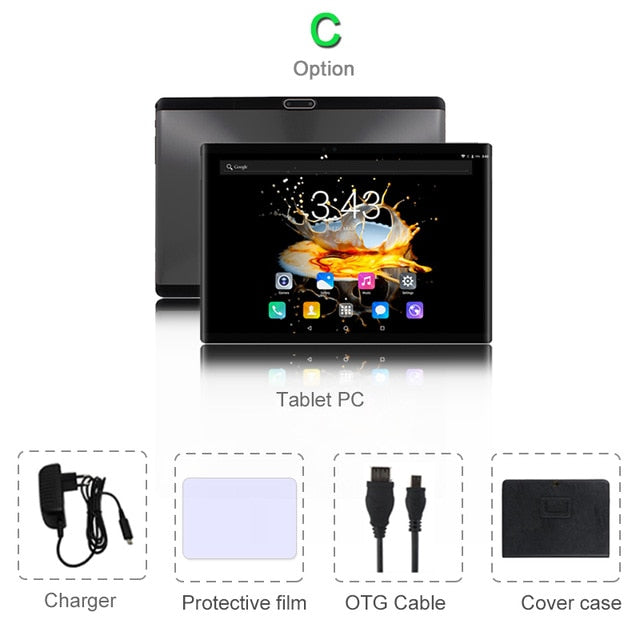 Android 8.0 Octa Core Ram 6GB Rom 64GB Tablet PC - Discountgereation