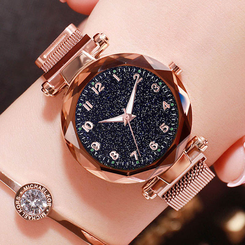 Luminous Starry Sky Magnetic Wristwatch - Discountgereation