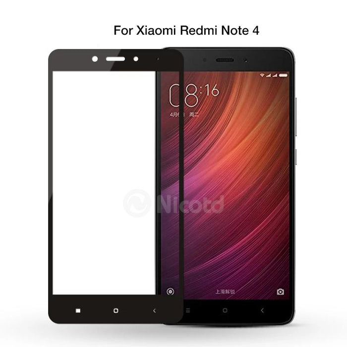 Full Cover Tempered Glass For Xiaomi Redmi - Discountgereation