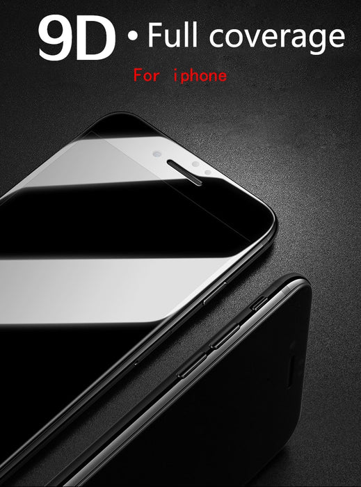 9D Protective Glass for iPhone - Discountgereation