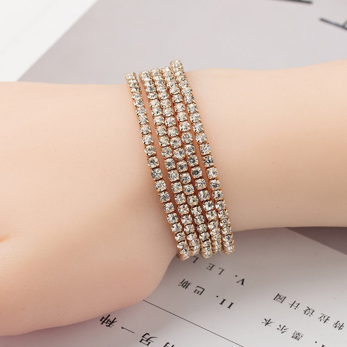 Crystal Elasticity Wrap Bracelets - Discountgereation