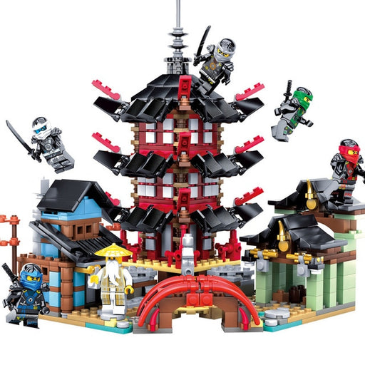 Ninja Temple Building Block Sets - Discountgereation
