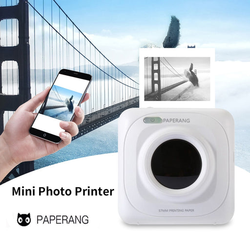 Portable Bluetooth Mini Pocket Photo Printer - Discountgereation