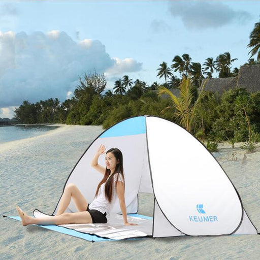Pop Up Open Anti UV Camping Tent - Discountgereation