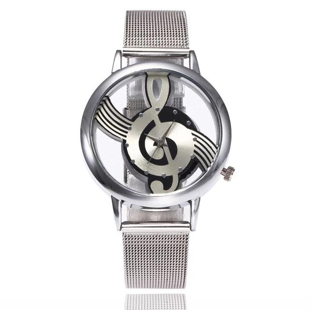 Hollow Music Note Notation Watch - Discountgereation