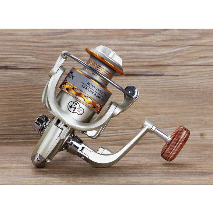Metal Left/Right Hand Fishing Reel - Discountgereation